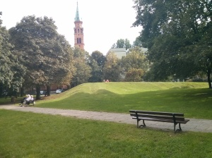 General Jan Jur-Gorzechowski  Park, the estimated presence of the former Pawia 30