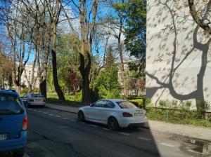 האזור בו עמד הבית ברחוב פאוויה 5 - פינת רחוב זמנהוף - היום