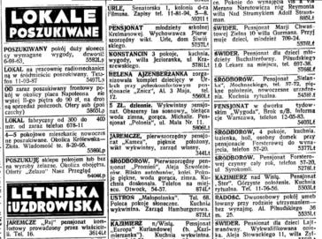 מדור הודעות, Nasz Przegląd